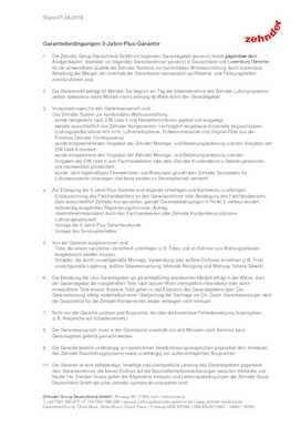 5-Jahre-Plus-Garantie | Zehnder Group Deutschland GmbH