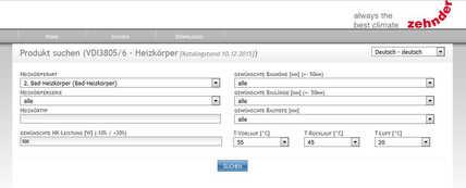 Motiv:Ab sofort bietet Zehnder für seine Heizkörpermodelle BIM-Produktdaten im VDI 3805-Webnavigator des BDH zum Download an. Damit können Zehnder Heizkörper in 2D und 3D inklusive technischer Attribute über eine Schnittstelle direkt in die Planungssoftware exportiert und weiterverarbeitet werden.
