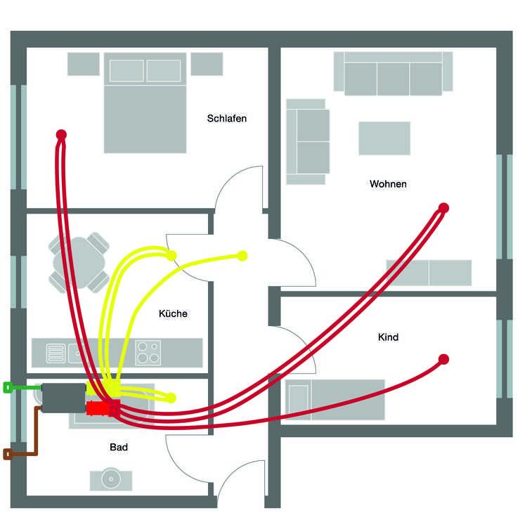 standard wohnung zehnder group deutschland gmbh. Black Bedroom Furniture Sets. Home Design Ideas