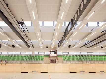 Zehnder ZBN für Sporthallen.