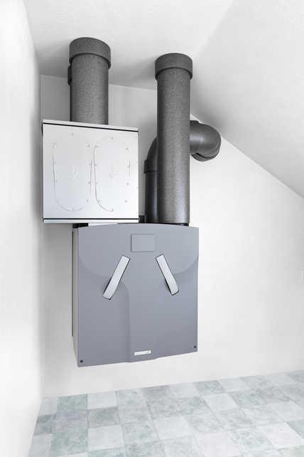 Zehnder System zur komfortablen Wohnraumlüftung als Optimallösung für maximale Energieeffizienz